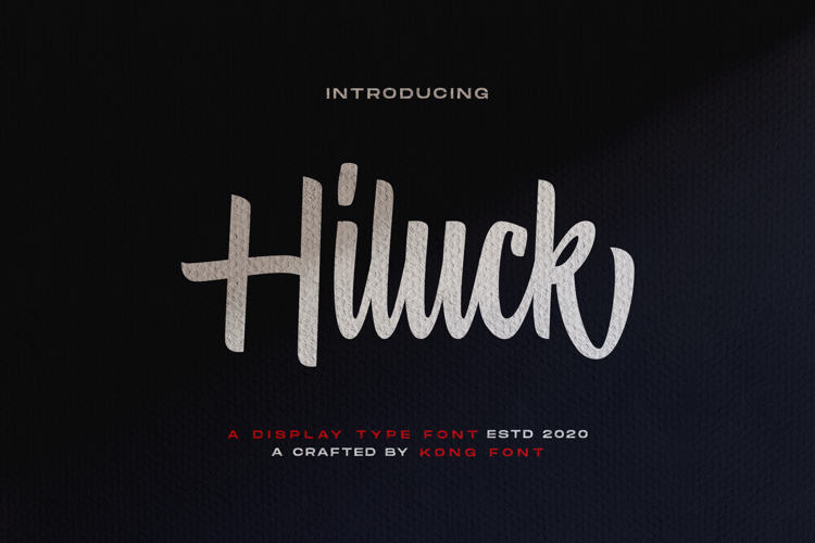 Hiluck Font