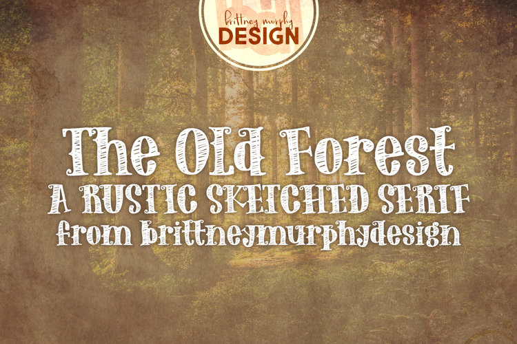 The Old Forest Font