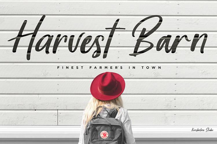 Harvest Barn Font