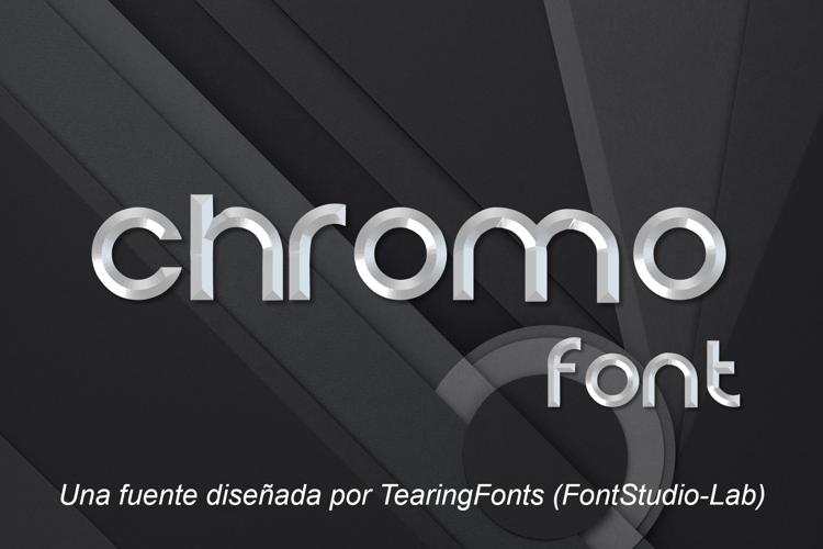 Chromo Font