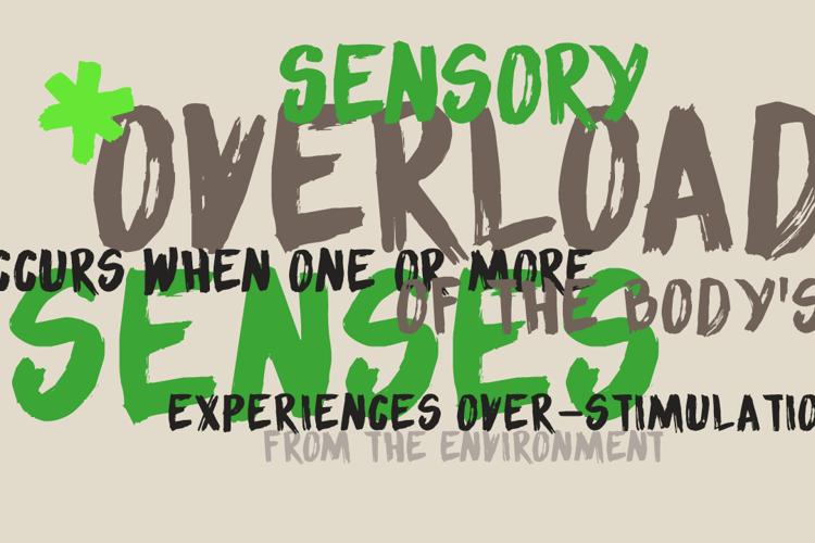 DK Sensory Overload Font