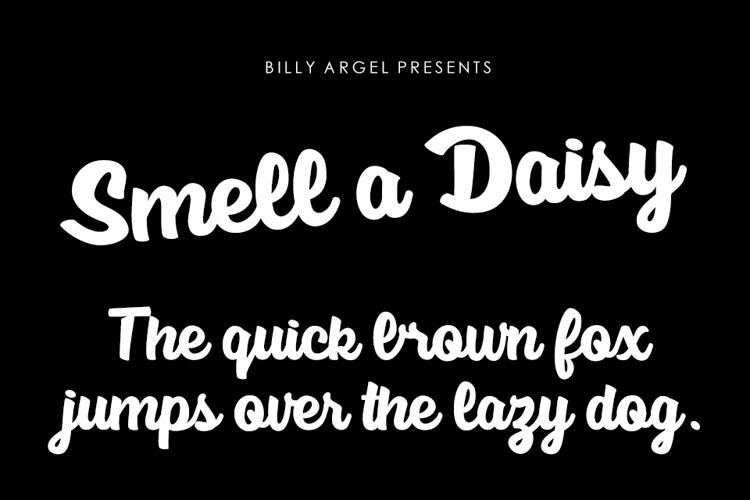 Smell a Daisy Font
