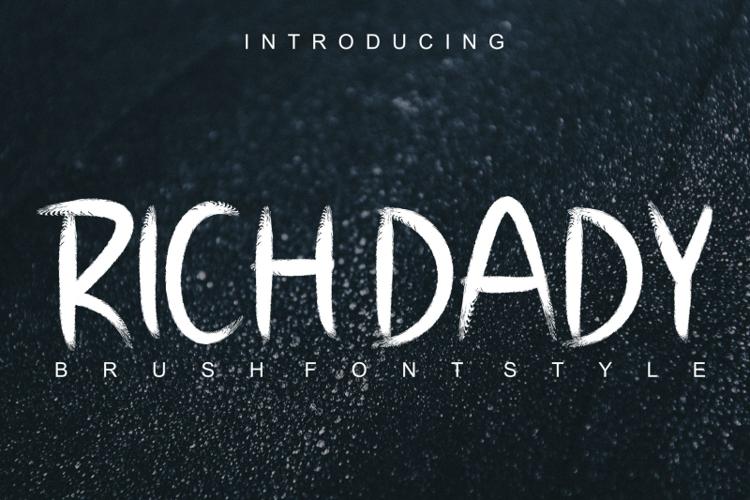 RICH DADY Font