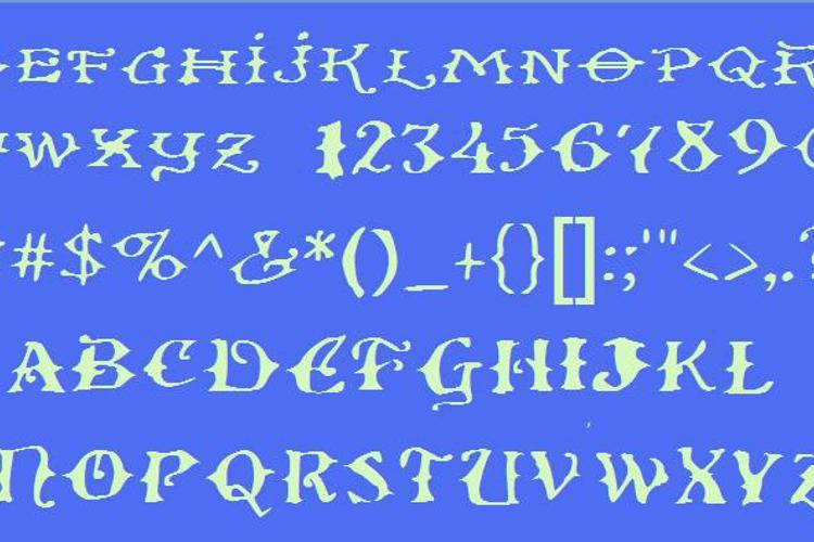 Ol' Wes' Rustik Font