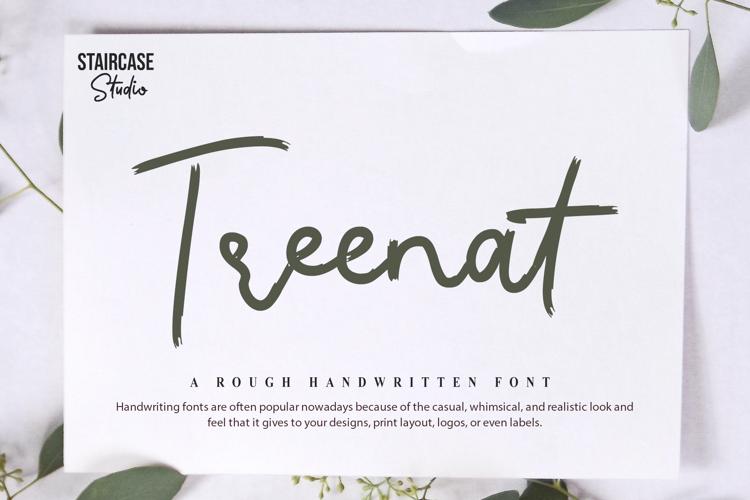 Treenat Font