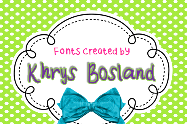 KBRoundUp Font