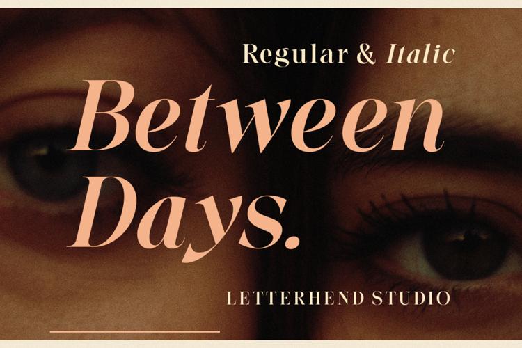 Between Days Font