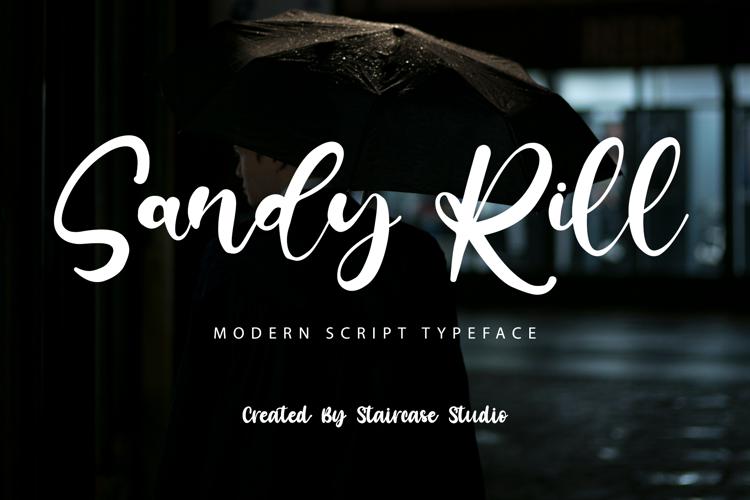 Sandy Rill Font