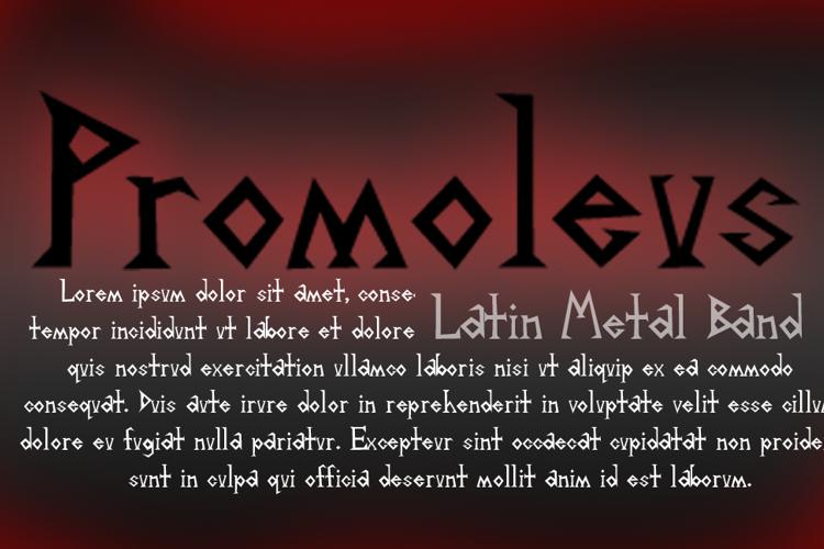 Promoleus Font