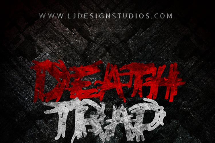 Deathtrap DEMO Font