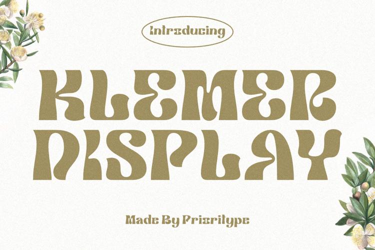 Klemer Display Font