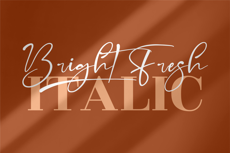 Bright Fresh Font
