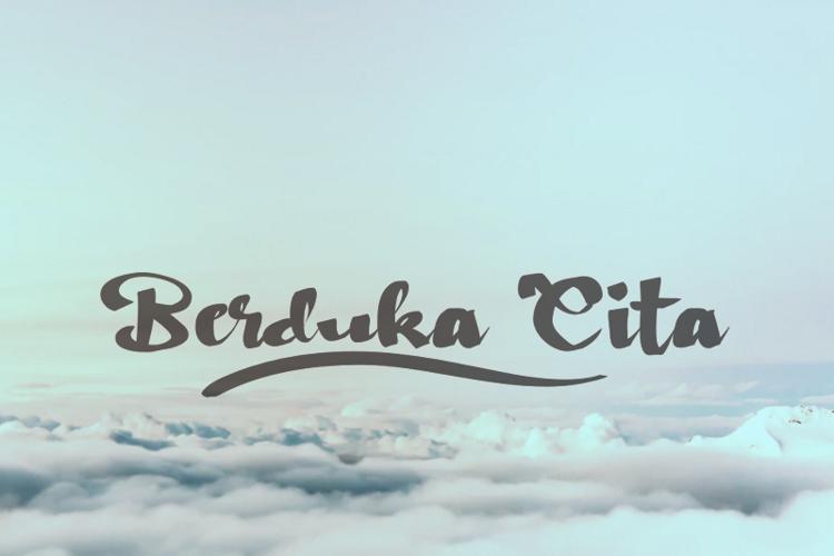 b Berduka Cita Font