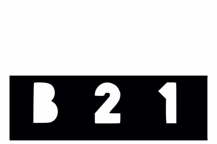B21 Font