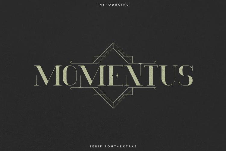 Momentus Font