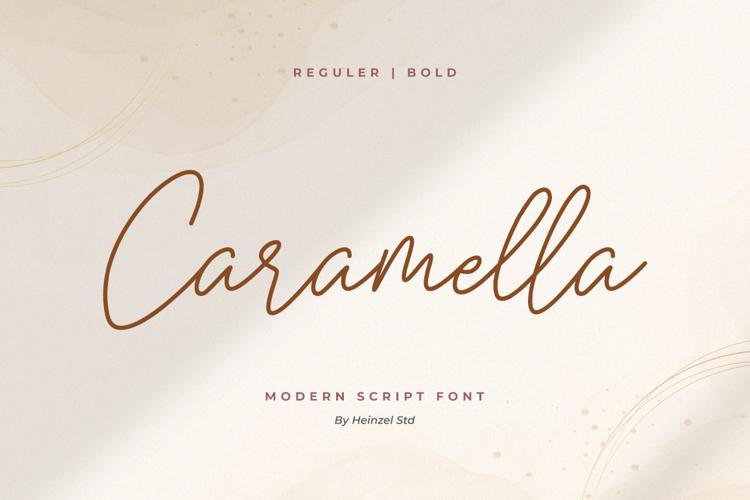 Caramella Font