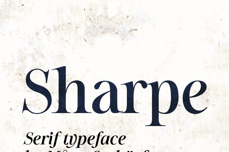 Sharpe Font