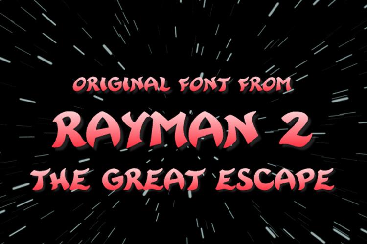 Rayman 2 Font