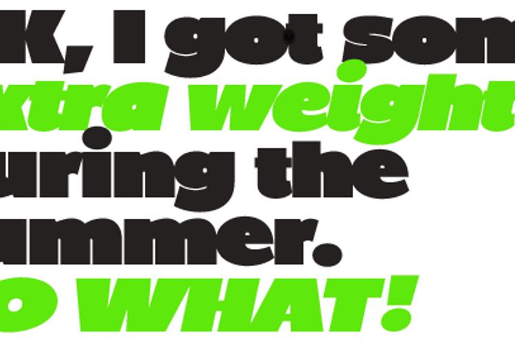 BP Diet Font