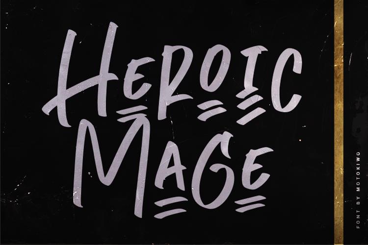 Heroic Mage Font
