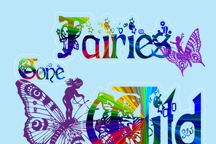 Fairies Gone Wild Font