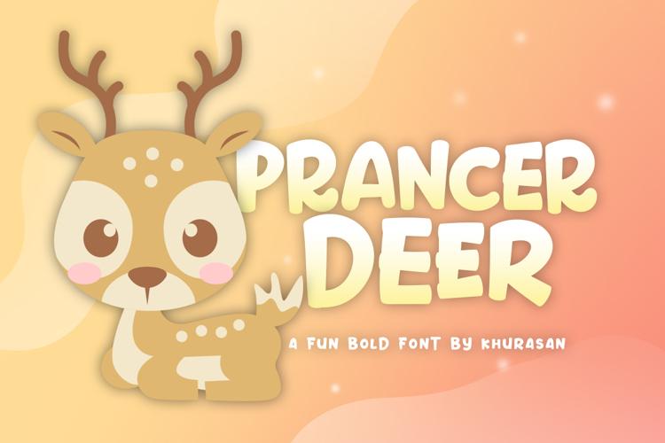 Prancer Deer Font