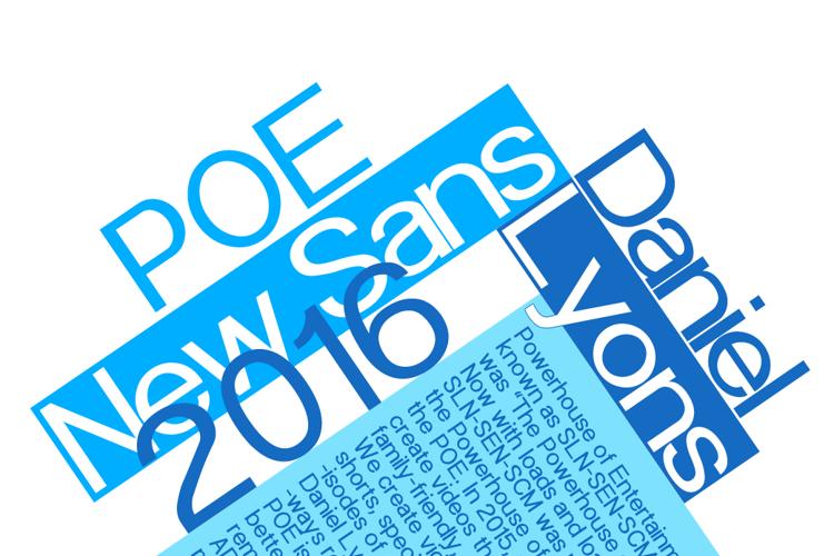 POE Sans New Font