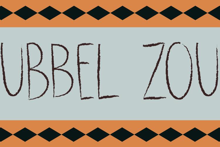 DK Dubbel Zout Font