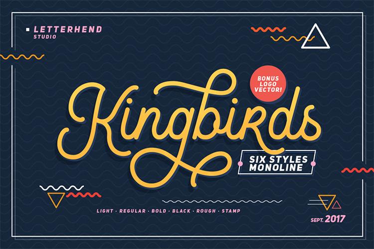 Kingbirds Regular DEMO Font