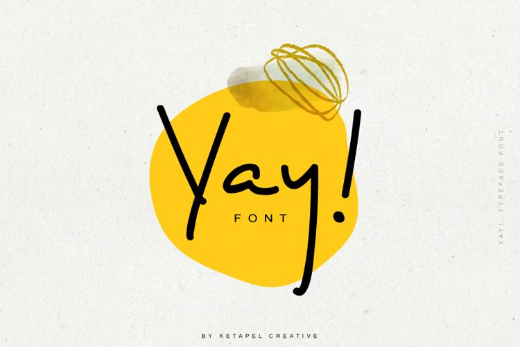 Yay ! Font