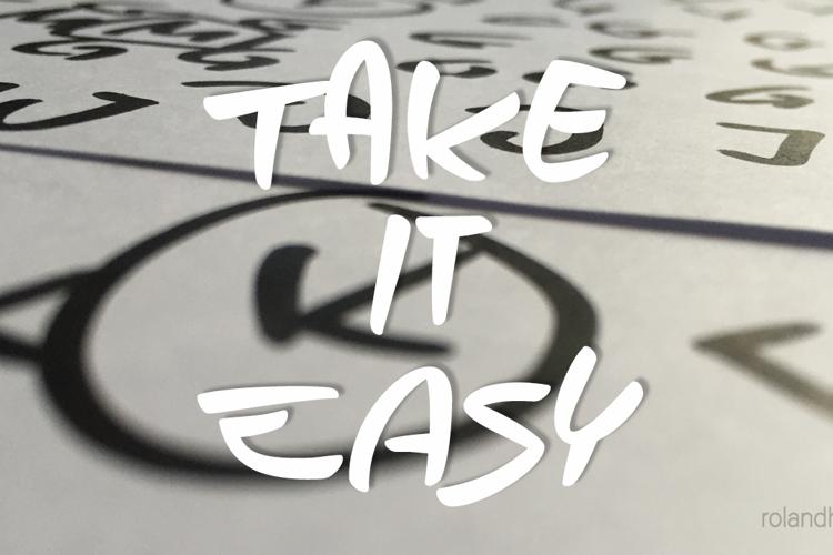 Take it Easy Font