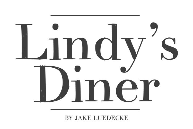 LindysDiner Font
