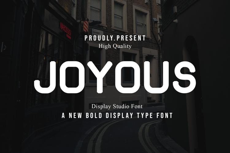 Joyous Font
