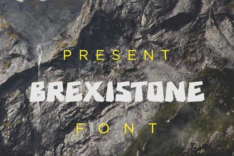 Brexi Stone Font