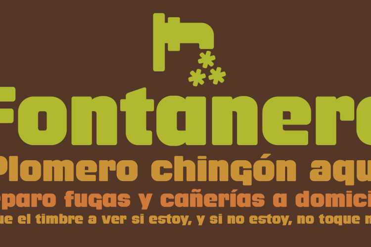 Fontanero Font