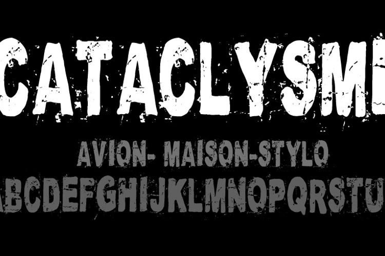 Cataclysme Regular Font