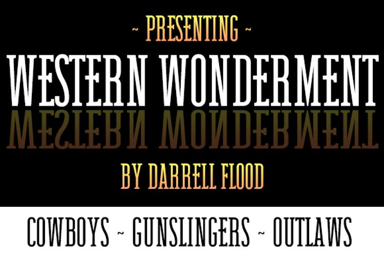 Western Wonderment Font