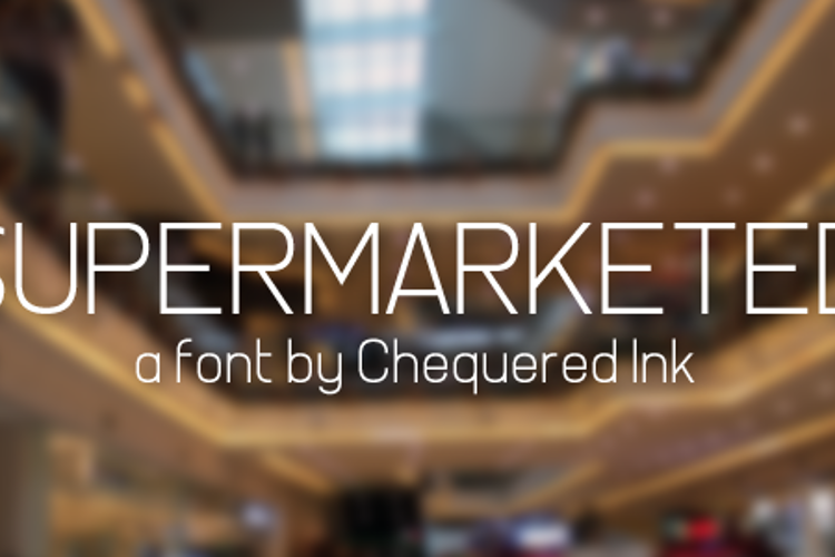 Supermarketed Font
