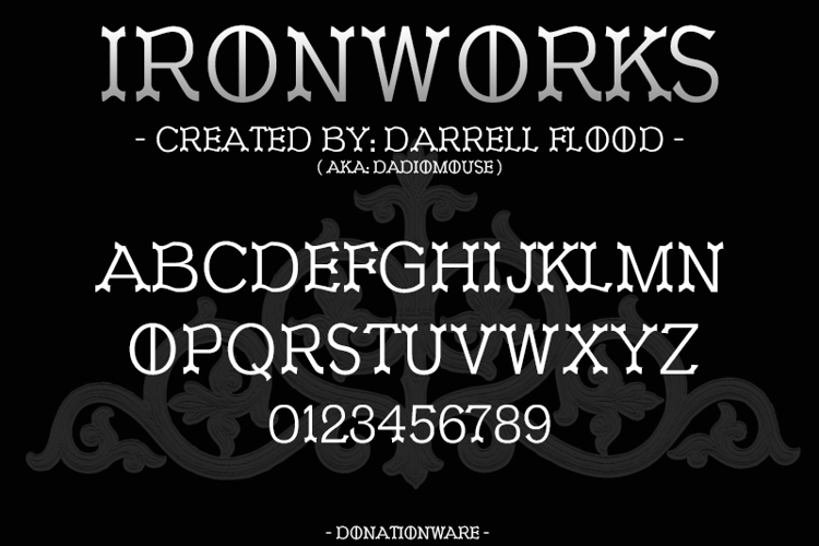 Ironworks Font