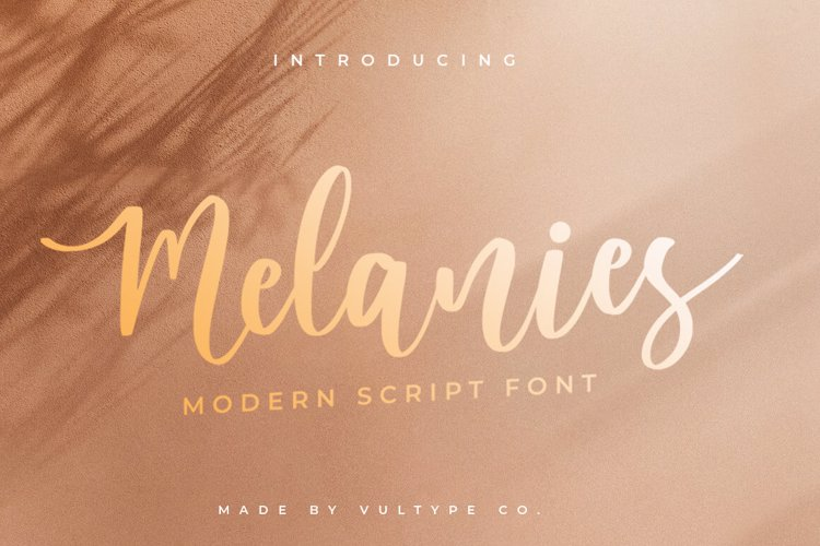 melanies Font