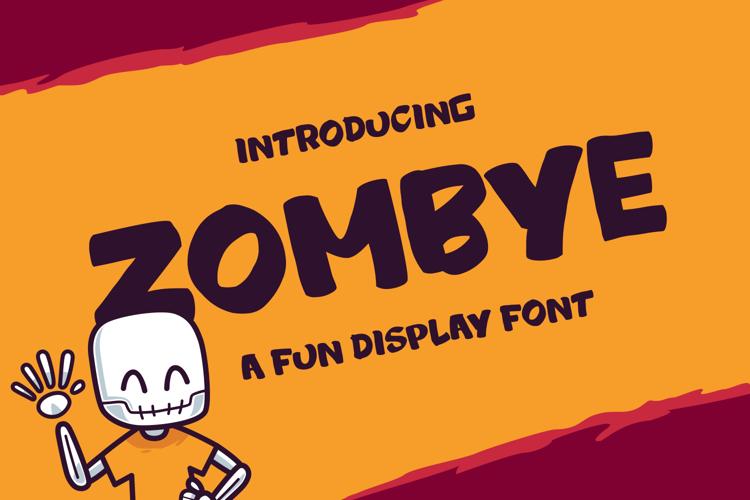 ZOMBYE Font