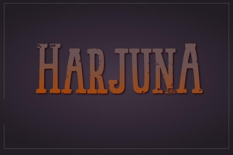 Harjuna Font