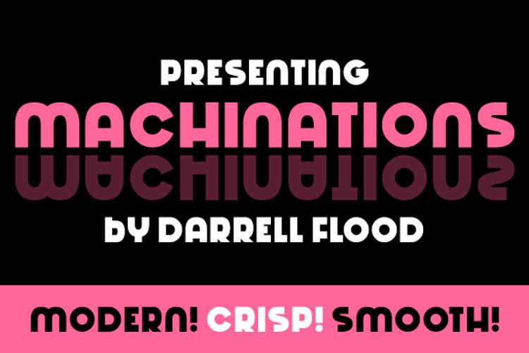 Machinations Font