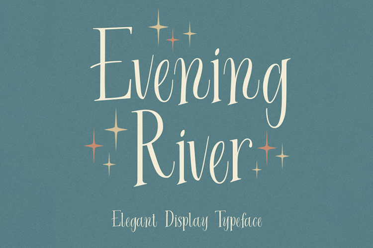 Evening River Font