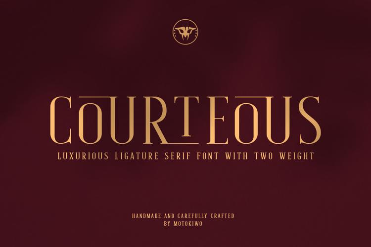 Courteous Font