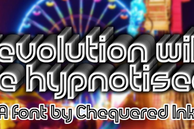 Revolution Will Be Hypnotised Font