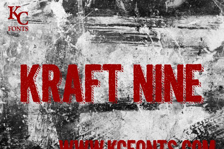 Kraft Nine Font