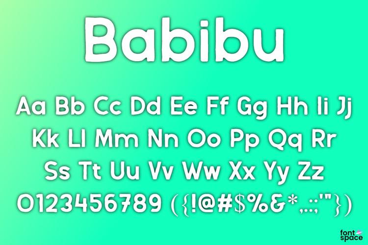 Babibu Font