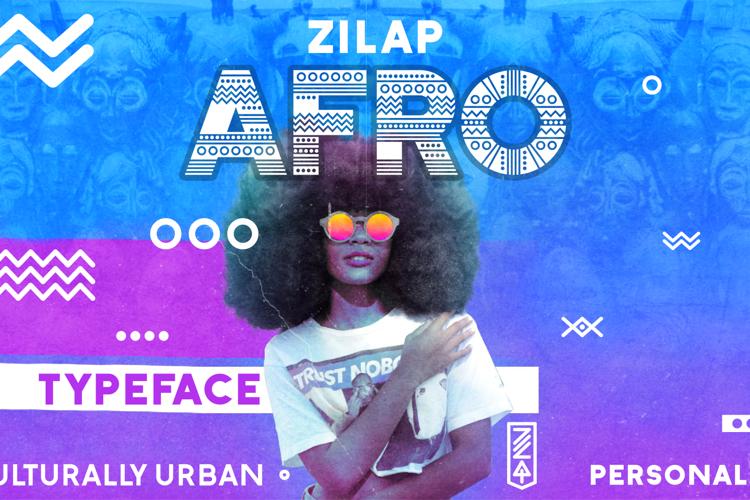 Zilap Afro Font
