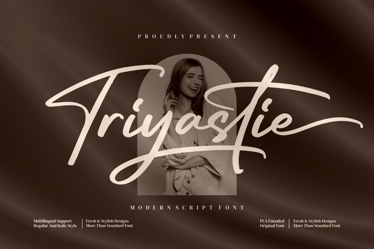 Triyastie Font